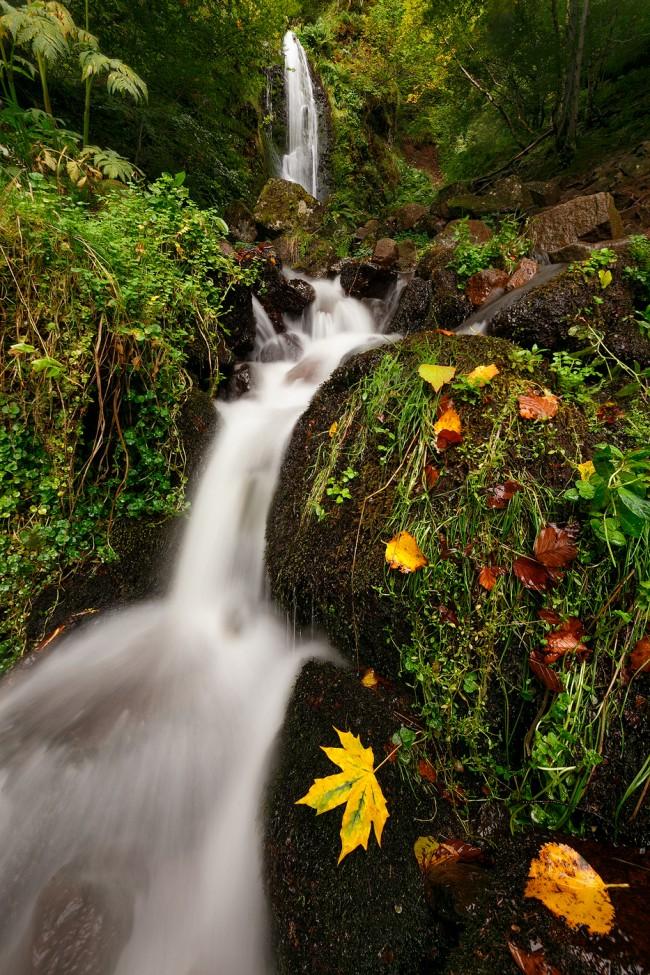 cascade perouse france puy de dome auvergne paysage