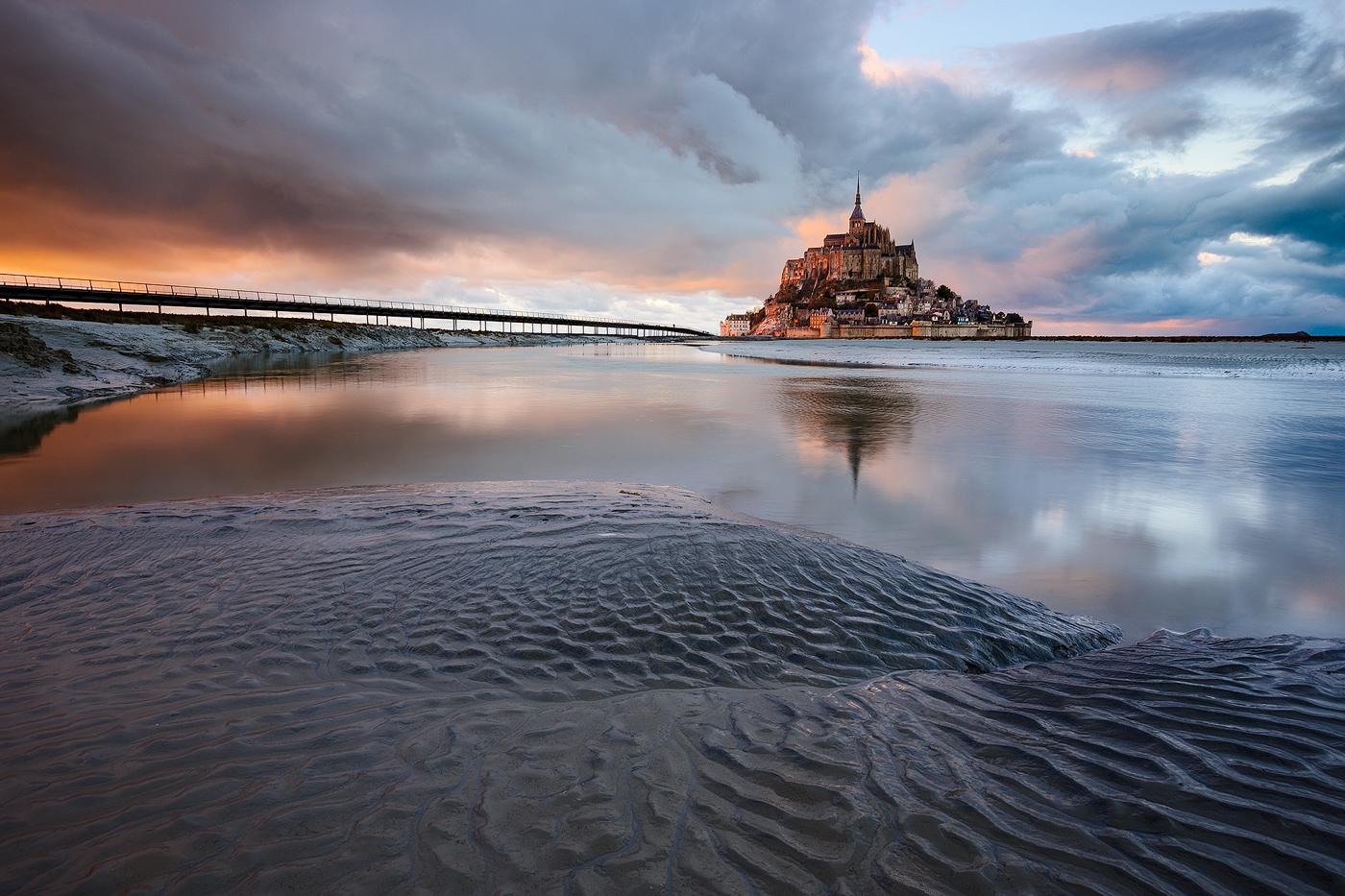 mont saint michel manche normandie - nicolas rottiers photographe paysage
