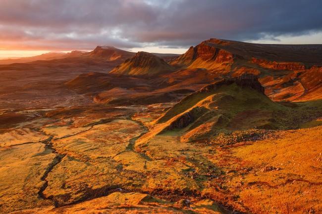 quiraing ile de skye ecosse - nicolas rottiers photographe paysage