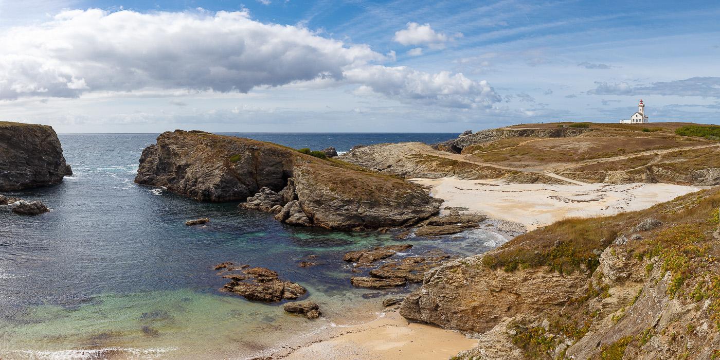 Pointe des poulains à Belle Île en Mer