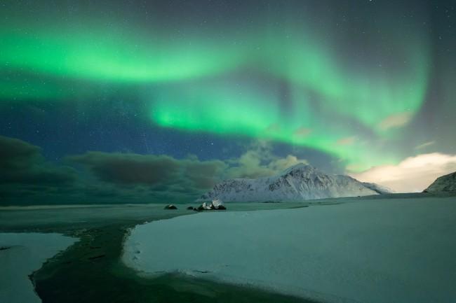 Flakstad beach Lofoten Norvège - Nicolas Rottiers photographe paysage