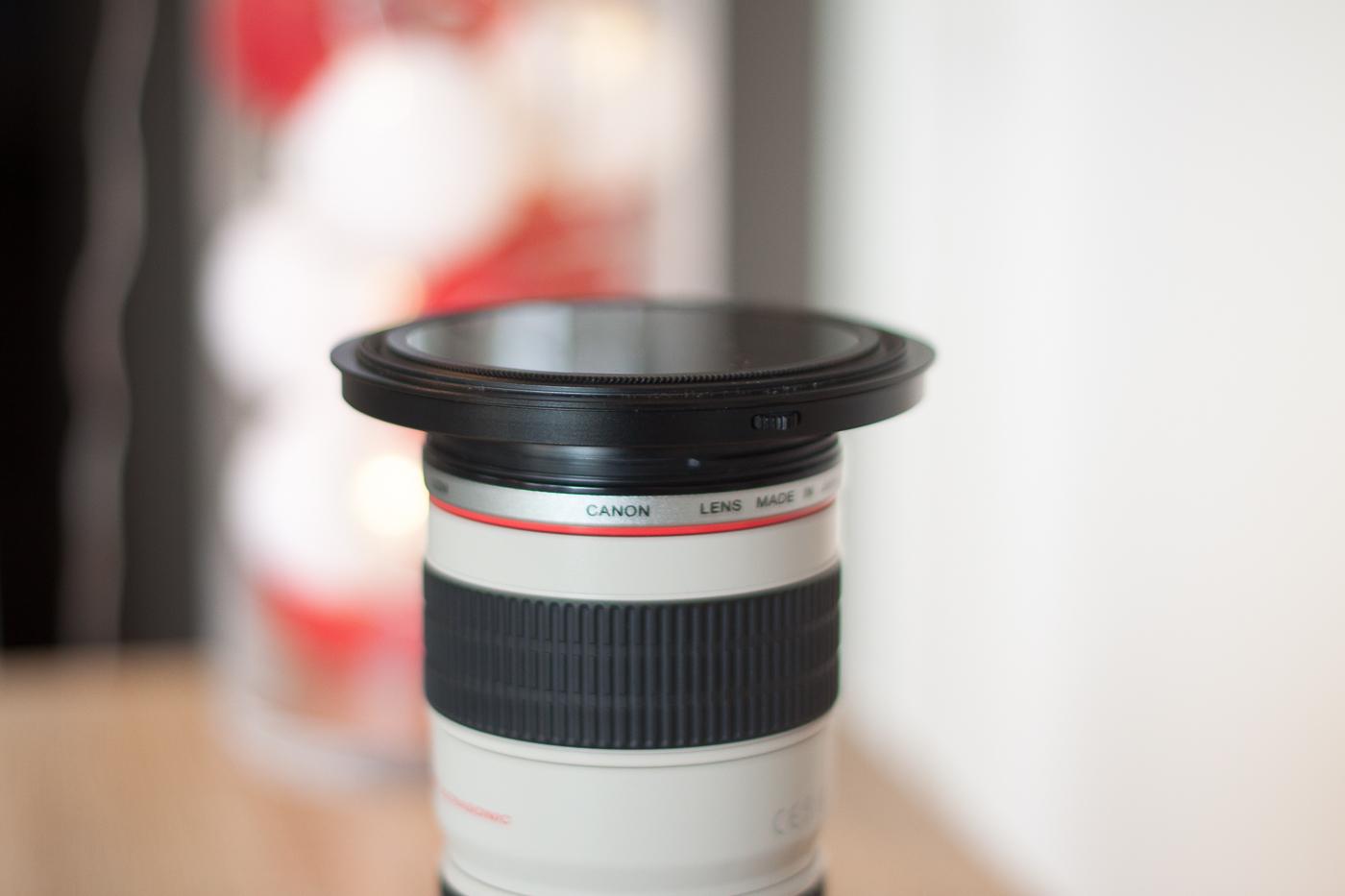 Test porte-filtre NISI 100 mm V5 Pro