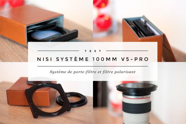Cover test nisi porte-filtre